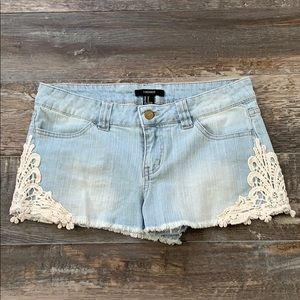 😊2/25 FOREVER21 cute shorts size 27